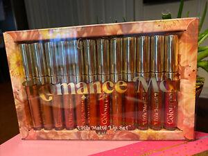 NEW Colourpop Romance Moi Vault Release Ultra Matte Lip Set 12PC Liquid Color