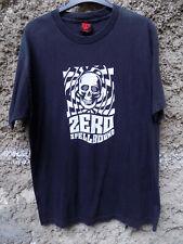 Vintage ZERO Spellbound Skateboards Logo Rare T-Shirt