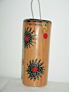 Ceramic Wall Pocket Vase Taormina Sicily Italy Bright Colourful Art Work Handmad