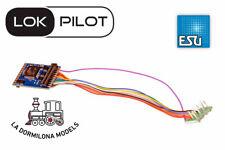 ESU 59620 DECODER LokPilot 5 DCC, 8-pin NEM652 - Para escalas H0, TT y 0 - NUEVO