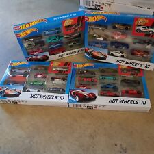 New  Hot Wheels Pack of 10 Cars Diecast Mini Cooper & Porsche ) FANS