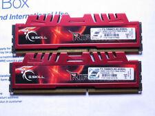 G.SKILL F3-10666CL9D-8GBRL Ripjaws X 8GB (2x4 GB) 1333MHz DDR3 Ram