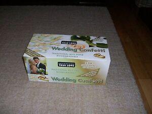 True Love Biodegradable Wedding Confetti Box of 24