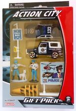 Toy Police Vehicles, Action City Diecast Metal Gift Pack