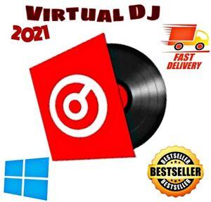 VIRTUAL DJ Pro Version 8.5 Infinity 2021 Controller Mixing Software