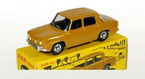 DAN TOYS Renault 8S Jaune Moutarde 1/43