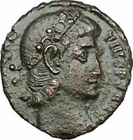 CONSTANTIUS II son of Constantine the Great Roman Coin Wreath of success i50805