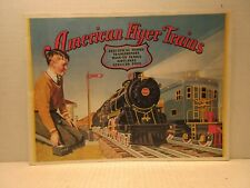 1930 Reprint American Flyer Trains Catalogue Electrical Transformers Windup Book