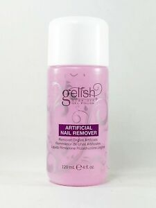 100% Authentic Harmony Gelish Soak Off Artificial Nail Remover 4 oz