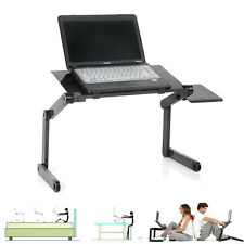 Hot 360°Adjustable Vented Foldable Laptop Notebook PC Table Desk Portable