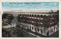 Postcard Medical Bldg University Michigan Ann Arbor MI
