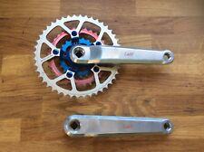 L&M CNC Triple pedalier. Retro, Raro. Middleburn platos.