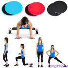 2PCS Fitness Gliders Slide Discs Sliders Workout Gym Exercise Body Slim Training
