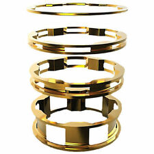 "BOX BMX ZERO HEADSET SPACERS GOLD 1"" 4/PK"