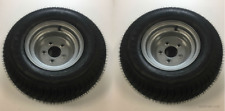 20.5 X 8-10 (205/65-10) Class E Snowmobile Trailer Tire with Steel Wheel