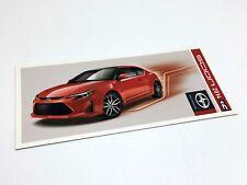 2014 Scion tC TRD Preview Brochure