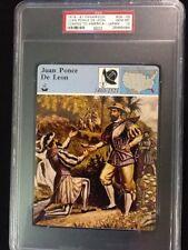 PSA 10 GEM MINT         Juan Ponce De Leon      Panarizon #09-05