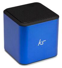KitSound Cube Bluetooth Speaker Portable - Blue