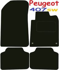 Deluxe Quality Car Mats for Peugeot 407sw 04-10 ** Tailored for Perfect fit ;) *