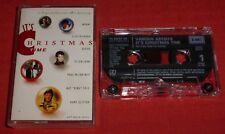 IT'S CHRISTMAS TIME - UK CASSETTE TAPE - V/A (QUEEN/KATE BUSH/ELTON/MUD/WHAM)