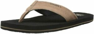 O'Neill Phluff Daddy Suede Sandle Flip Flop Men's  Size 14, Tan