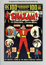 SHAZAM! #8 Near Mint - 1st BACK ADAM in BRONZE AGE - GAINT SIZE - GORGEOUS BOOK