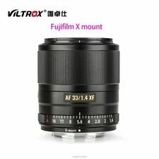 Viltrox 33MM F1.4 STM X-mount Auto Focus Lens AF Full Frame for FUJI X-MOUNT CAM