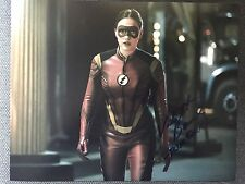 The Flash Violett Beane  Autographed Signed 11x14 Photo COA C