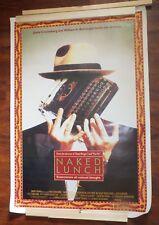 Naked Lunch Movie Poster Original David Cronenberg Ralph Macchio Eric Stoltz