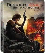Film in DVD e Blu-ray edizione steelbook Resident Evil: The Final Chapter