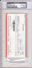Joe DiMaggio Certified Authentic Autographed Signed Check PSA/DNA COA 83276224