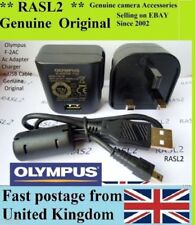 Genuine Original Olympus F-2AC AC ADAPTER charger VR-330 X-36 VH-210 VR-310 T100