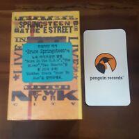 Bruce Springsteen & The E Street Band - Live In New York City CASSETTE TAPE