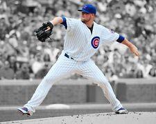 Chicago Cubs JON LESTER Glossy 8x10 Photo Baseball Print Spotlight Poster