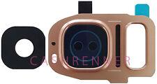Kamera Linse Pink Abdeckung Camera Lens Frame Cover Samsung Galaxy S7 Duos