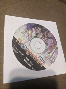 Drivers CD for MSI TV @nywhere Plus PCI TV Tuner & Capture/Recording Card
