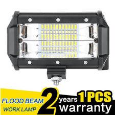5 Inch 72W LED Work Light Bar Flood Spot Combo Offroad Truck SUV Boat Lamp 1PC ~
