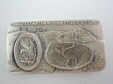 Megiddo Water System by Eliezer Weishoff State Medal, 65/36mm, 4oz fine Silver