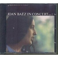 JOAN BAEZ - JOAN BAEZ IN CONCERT PART 2  CD NEW+