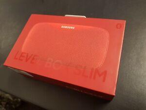 RED Samsung EO-SG930 Original LEVEL Box Slim Wireless Portable Bluetooth Speaker