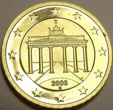 Cameo Proof Germany 2003-G 10 Euro Cents~Karlsruhe Mint~Cameo~Free Shipping~