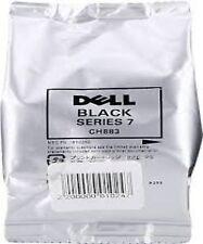 Genuine Dell Series 7 CH883 Black Ink Cartridge New Original