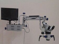 Wall Mount 3 Step Dental Microscope With Camera & Monitor  LABGO AU1