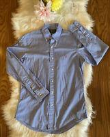 Ralph Lauren Men's L/S Custom Fit Button Down Shirt Size Small