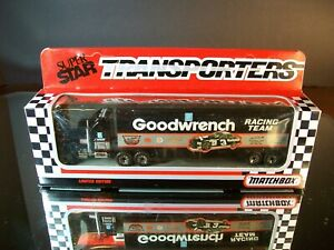 Dale Earnhardt #3 GM Goodwrench 1991 1:87 Racing Team Transporter Matchbox