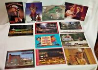Lot 12 Nashville Tennessee Post Cards Grand Ole Opry Souvenir TN Music - NEW