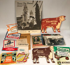 Paper Collectibles, Postcards, Rppc, Soda Labels, Ad Cards