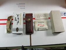 "Super Rare 85 Case XX #7158 LSSP ""Curly Maple Handles"" MAKO+ Box & Everything Mt"
