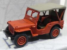 1/87 Ree Modeles Jeep Feuerwehr Pompier Plane Fumay CB-088