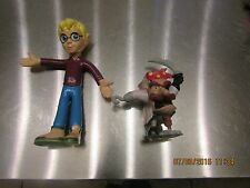 Lot of 2 Pagemaster Pvc Figures